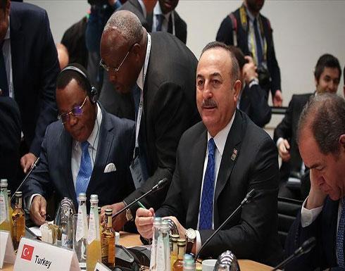 تشاووش أوغلو: نواصل التعاون مع روسيا حول إدلب