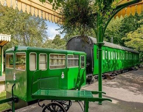 بالصور : قطار عمره 100 عام يتحول إلى فندق فاخر -                 جي بي سي نيوز