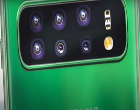 سامسونغ تطور هاتفا بـ 6 كاميرات متحركة لم تطرح مثله من قبل!