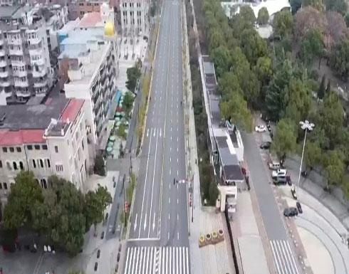 بالفيديو : صور جوية لمدينة الاشباح الصينية ووهان