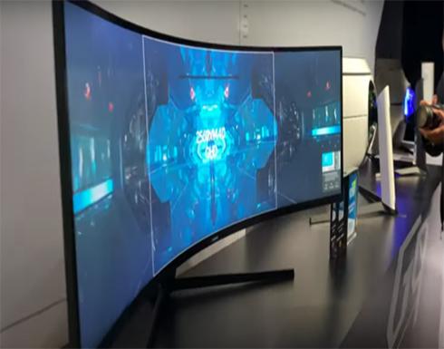 سامسونغ تكشف عن شاشة للمصممين وعشاق الألعاب لامثيل لها في العالم!