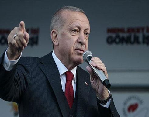 أردوغان: أمن تركيا يبدأ بعيدا عن حدودها ولن نتوقف حتى تحقيق الانتصار