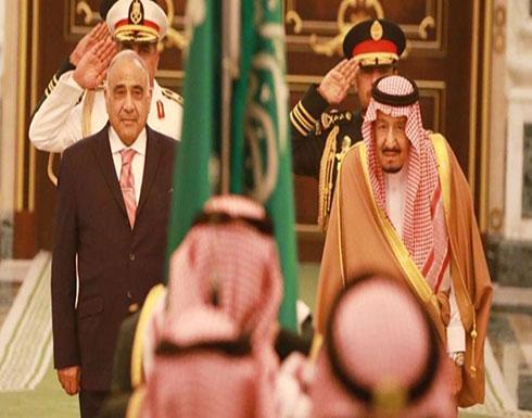 الملك سلمان يستقبل رئيس وزراء العراق