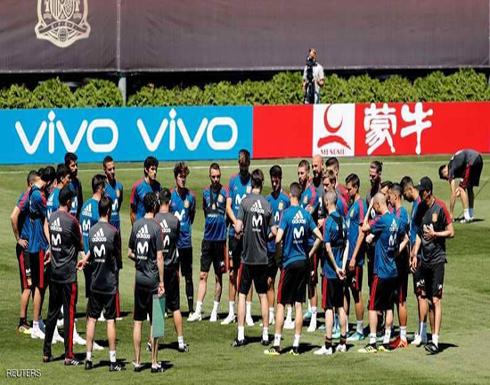 """""""قلب دفاع"""" إسبانيا يغادر التدريبات"""