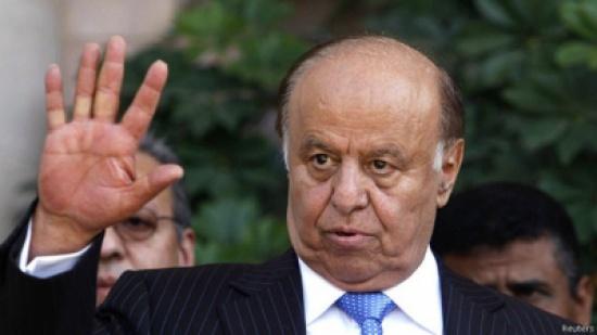 هادي في عدن للقاء مرتقب بالمبعوث الأممي