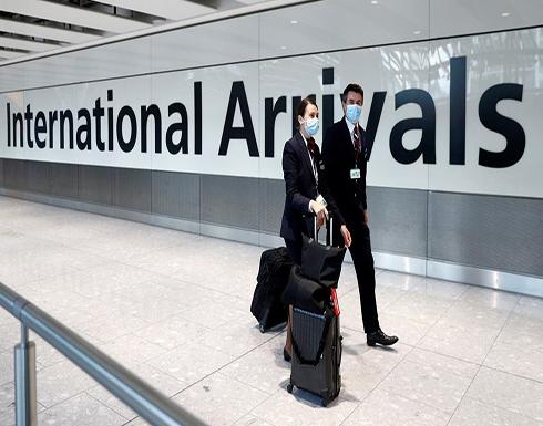تعليق الرحلات الجوية مع بريطانيا يبدأ منتصف الليلة بسبب كورونا