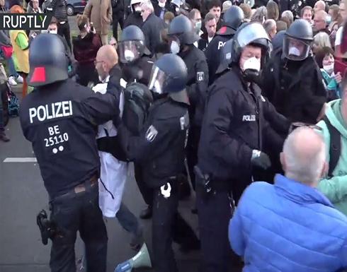 شاهد : اعتقالات في ألمانيا طالت معارضي قيود كورونا