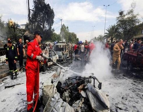 شاهد : 29 قتيلا بانفجار في سوق شعبي شرقي العاصمة العراقية
