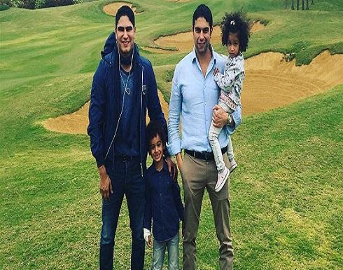 إعلامية تكشف صورة لطليقة أبو هشيمة وأم ولديه
