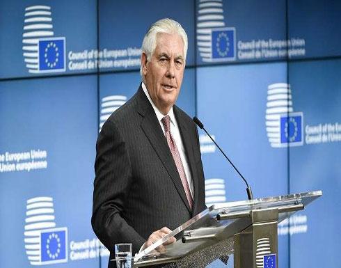 تيلرسون: تصرفات إيران تزعزع الاستقرار في سوريا واليمن ولبنان