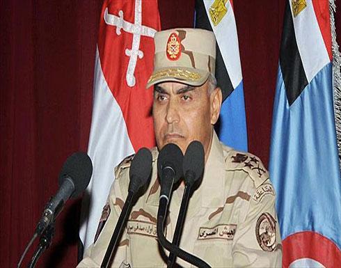 """وزير الدفاع المصري يبحث مع مساعد نظيره الأمريكي """"الحرب على الإرهاب"""""""