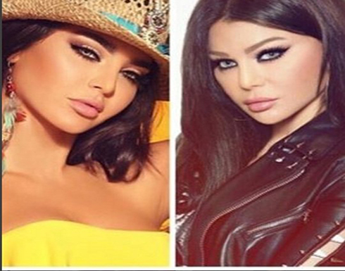 هيفاء وهبي تشن هجوم لاذع على رموش قمر اللبنانية …قمة في التفاهة (صور)