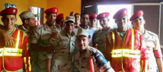 محمد رمضان يقدم أوراقه للالتحاق بالجيش
