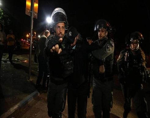 """""""الشيخ جراح"""".. الشرطة الإسرائيلية تعتدي على عشرات المتضامنين"""