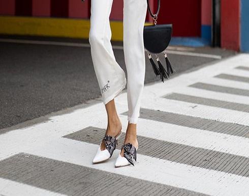 بالصور : الحذاء الأبيض يسطع من جديد في شوارع الموضة