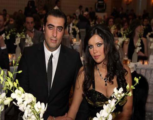 رنا الحريري تثير ضجة بقبلة عيد ميلاد زوجها باسم ياخور (شاهد)