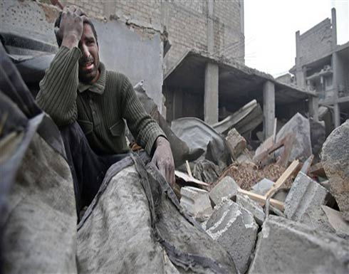 مقتل 16 في ضربات جوية قرب دمشق