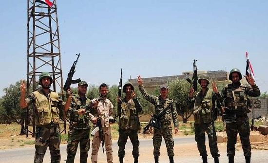 الجيش السوري يستعيد السيطرة على معبر نصيب الحدودي مع الأردن