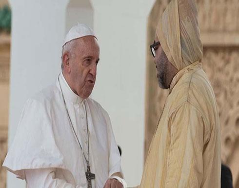 """عاهل المغرب وبابا الفاتيكان يؤكدان على """"وحدة وحرمة"""" القدس"""