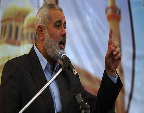 هنية يدعو لخطة فلسطينية استراتيجية لمواجهة صفقة القرن