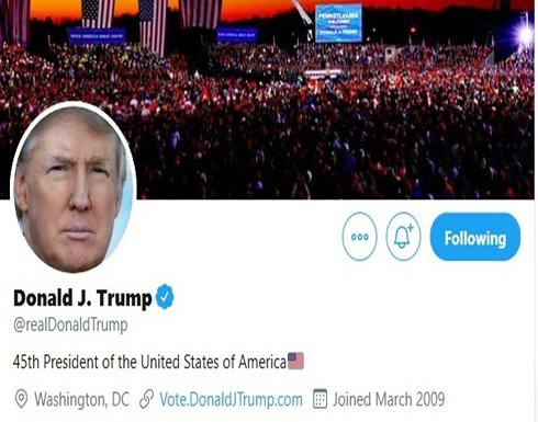 من ترمب إلى بايدن.. تويتر ينقل لقب الرئيس الأميركي