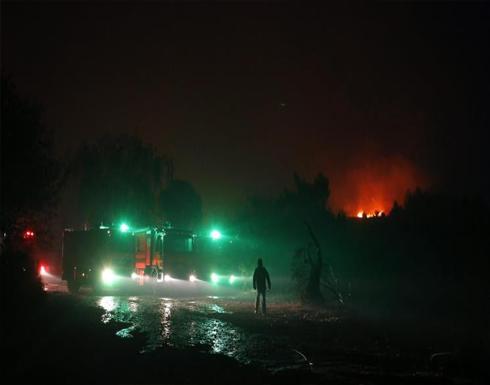 حرائق إسرائيل تمتد إلى الضفة