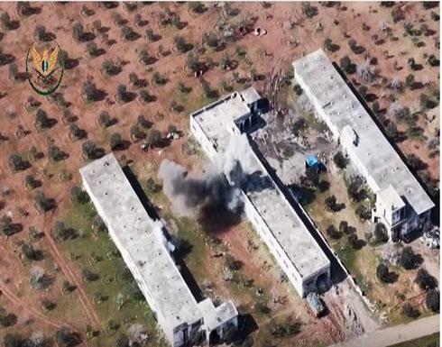 شاهد : تدمير قاعدة صواريخ مضادة للدروع لقوات الأسد