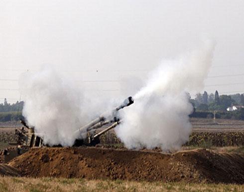 الاحتلال يقصف موقعا بغزة ويزعم سقوط قذيفة بمستوطنة