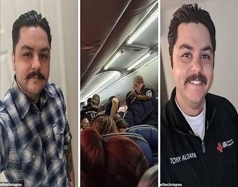 وفاة راكب بكورونا على متن طائرة