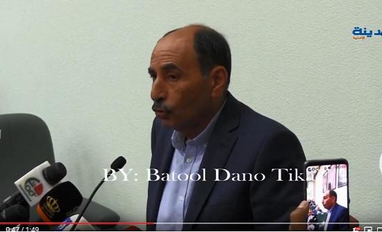 شاهد بالفيديو :  فلاح العموش يشرح عن الجسر المنهار في البحر الميت