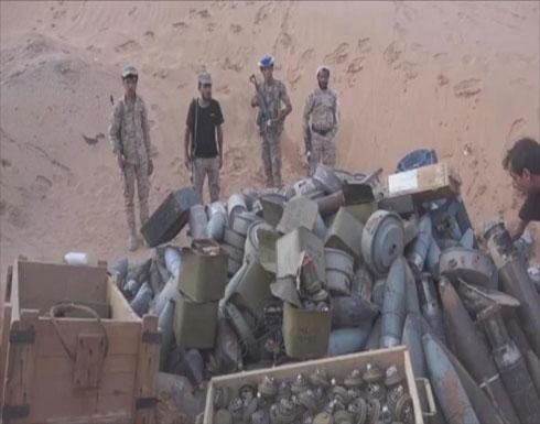 الجيش اليمني يتلف 1214 لغما زرعها الحوثي بصعدة
