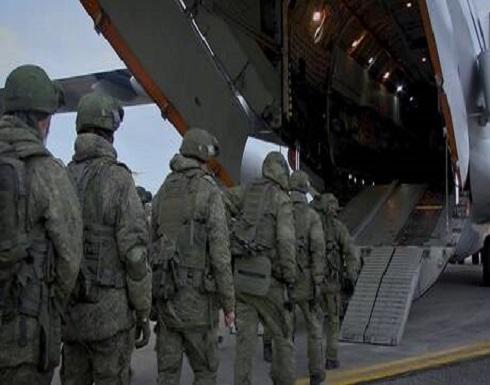 شاهد : قوات حفظ السلام الروسية في قره باغ
