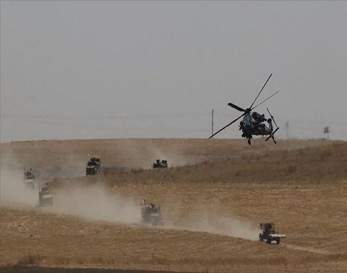 تسيير دورية أمريكية على الحدود السورية التركية