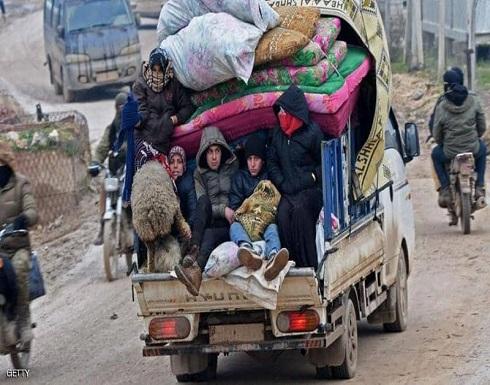 معركة إدلب.. أكثر من 800 ألف نازح سوري في شهرين ونصف