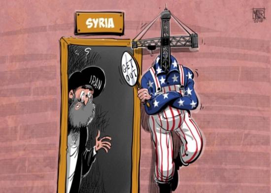 ضربة أميركية مباغتة لإيران