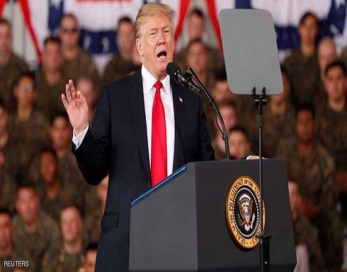 ترامب: إيران تقف خلف كل المشاكل في الشرق الأوسط