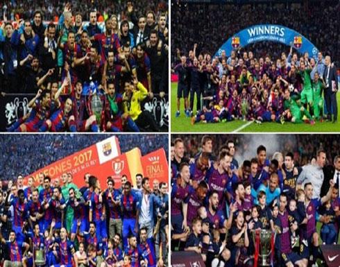 برشلونة الأفضل في العالم خلال العقد الأخير