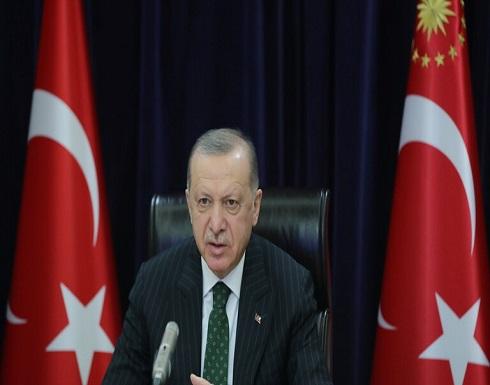 """أردوغان: سنسعى لضمان اعتراف واسع بـ """"قبرص التركية"""""""