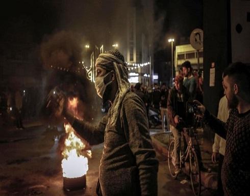 لبنان: مندسون في مظاهرة بطرابلس قاموا بأعمال شغب