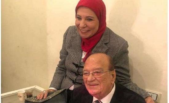الزوجة الثالثة لـ حسن حسني تفجر مفاجأة لأول مرة عنه