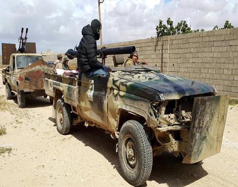 قتيلان لقوات حفتر باشتباكات وانفجارات ببنغازي