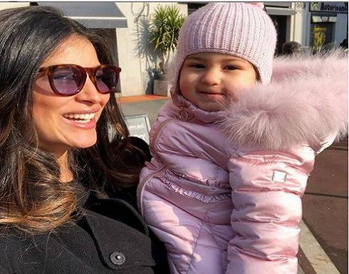 بالفيديو - ريم السعيدي تستعيد رشاقتها بسرعة وابنتها عارضة ازياء بالفطرة