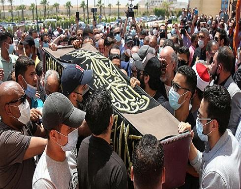 موقف غريب أثناء دفن سمير غانم