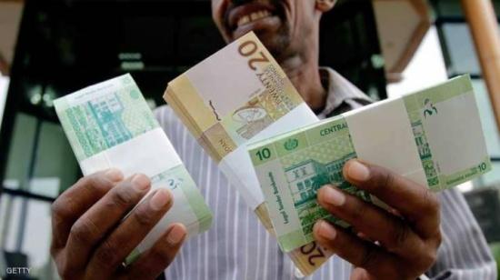 الجنيه السوداني يهوي أمام الدولار