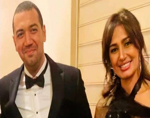 """تعليق """" هنا شيحة """" على ارتباط شقيقتها حلا بمعز مسعود .. فيديو"""
