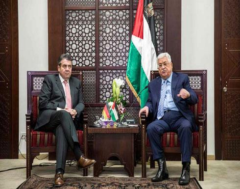 عباس يؤيد دور وساطة لألمانيا وفرنسا في نزاع الشرق الأوسط
