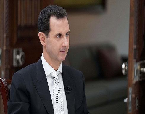 """الأسد: أمريكا تريد استعمار سوريا و""""الوجود الروسي"""" مشروع"""