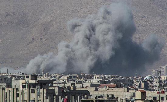 مقتل 28 مدنيًا جراء قصف النظام السوري على الغوطة