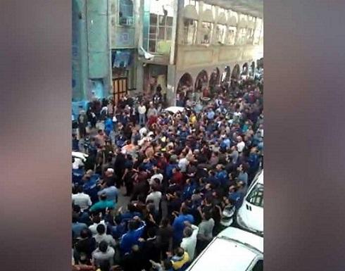 نقابات عمالية دولية تدعم احتجاجات الأحواز المتصاعدة