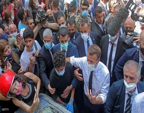 ماكرون من الجميزة: سأطرح مبادرة سياسية جديدة على اللبنانيين